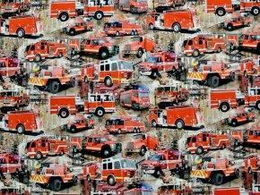 Elastický úplet hasiči (digitisk)