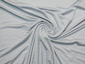 Viskozový úplet stříbřitě šedý