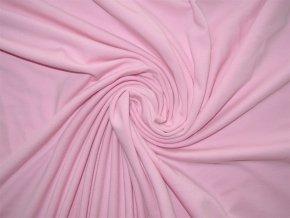 Elastický úplet světle růžový 200 g