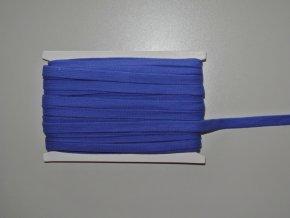 Šňůrka plochá 17mm modrá