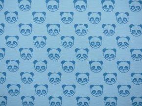 Elastický úplet pandy tyrkysové