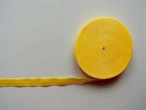 Pruženka lemovací 19 mm žlutá