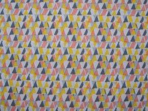 Elastický úplet modal - trojúhelníčky (zbytek)