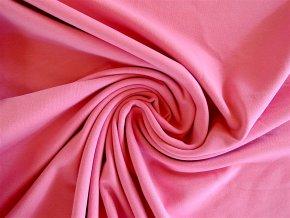 Elastická teplákovina středně růžová 250g (zbytek S VADOU)