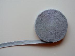Pruženka lemovací 19 mm šedá