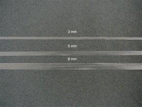 Elastické pásky čiré