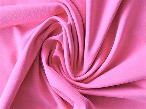 Elastický úplet středně růžový 200 g (zbytek)