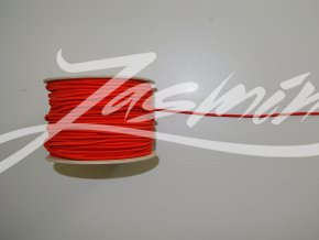 Guma klobouková červená 3mm
