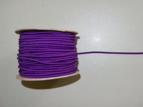 Guma klobouková fialová 3mm