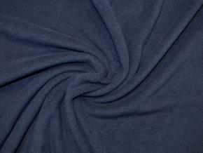 Fleece tmavě modrý 240g