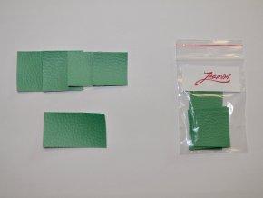 Štítky koženkové mentol