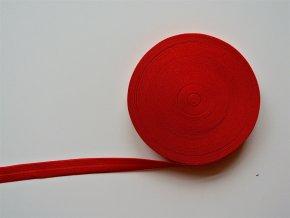 Pruženka lemovací 19 mm tmavě červená