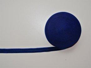 Pruženka lemovací 19 mm modrá