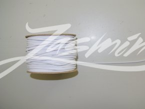Guma klobouková bílá 2mm