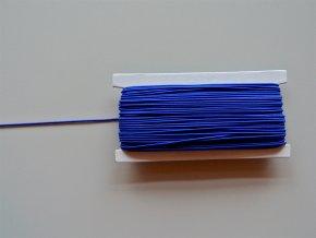Guma klobouková modrá 1,2mm