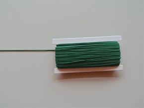 Guma klobouková tmavá zelená 1,2mm