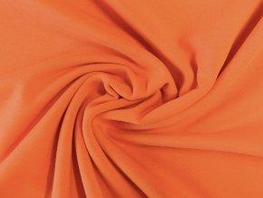 Elastická teplákovina oranžová 290g