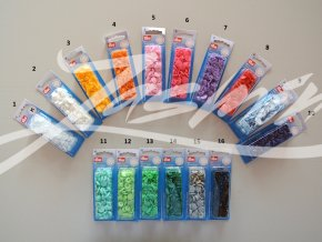 Patentky plastové Color Snaps Prym
