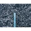 Softshell zimní - popraskaná země na tmavě modré