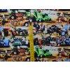 Elastická teplákovina závodní traktory (digitisk)