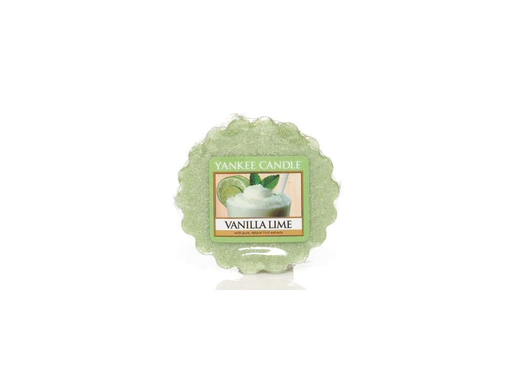 Yankee Candle - Vanilla Lime Vosk do aromalampy, 22 g