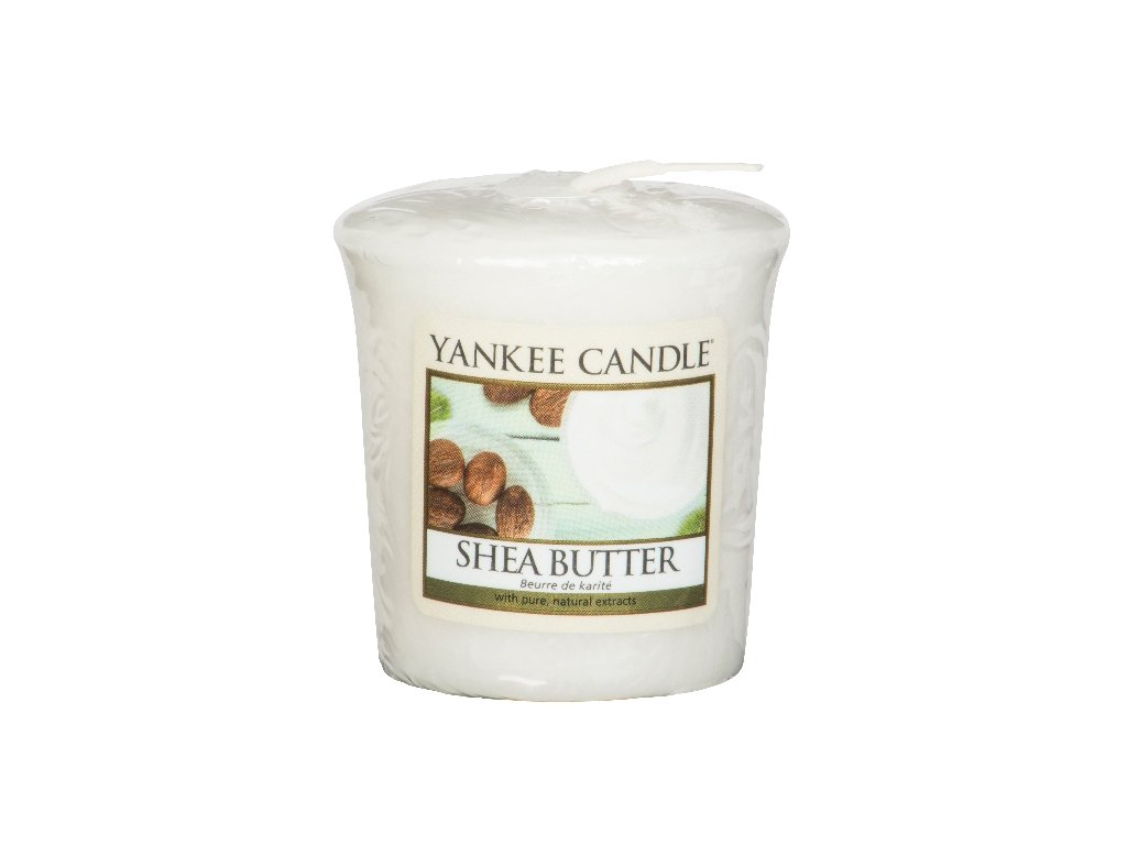 Yankee Candle Vonná Svíčka Votivní Shea Butter, 49 g