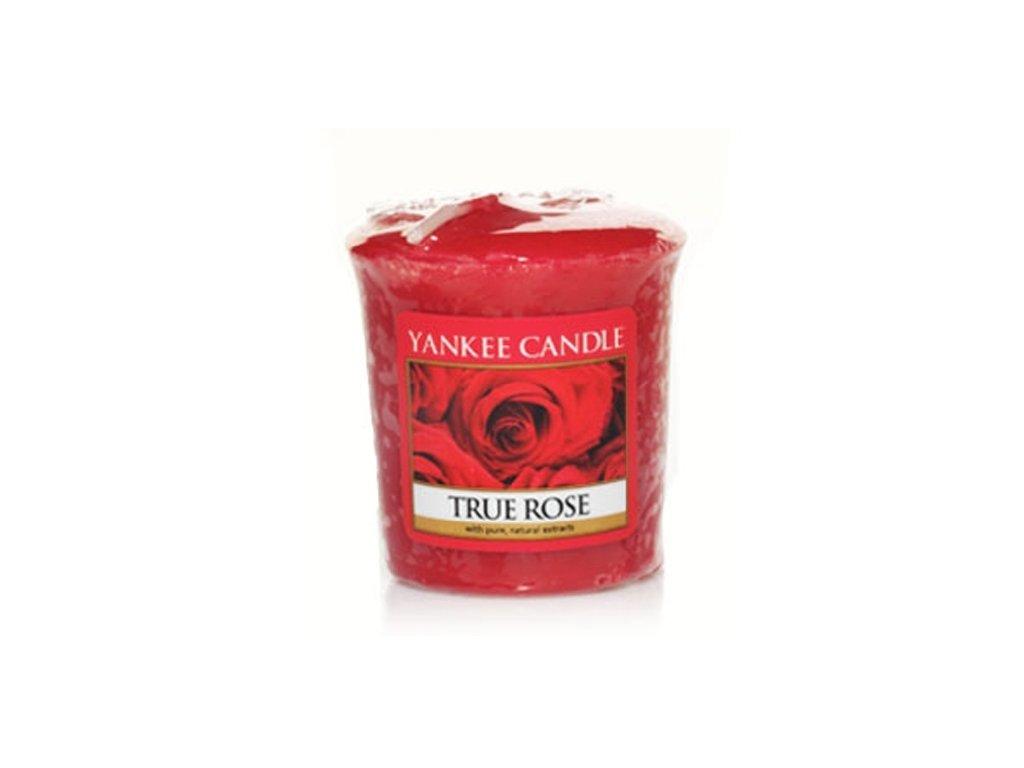 Yankee Candle Vonná Svíčka Votivní True Rose, 49 g