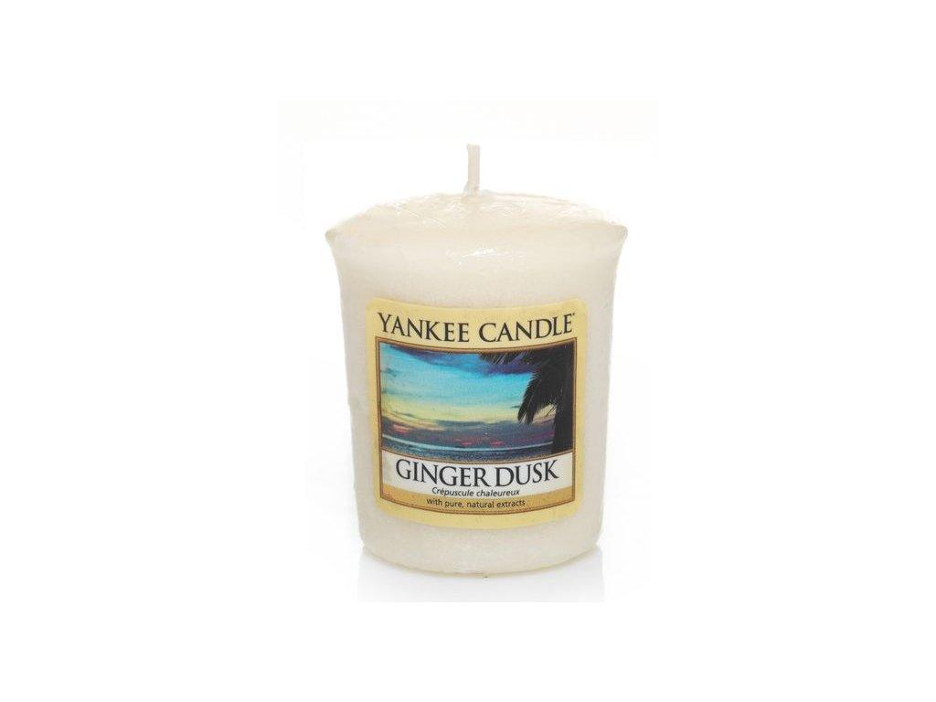 Yankee Candle Vonná Svíčka Votivní Ginger Dusk, 49 g