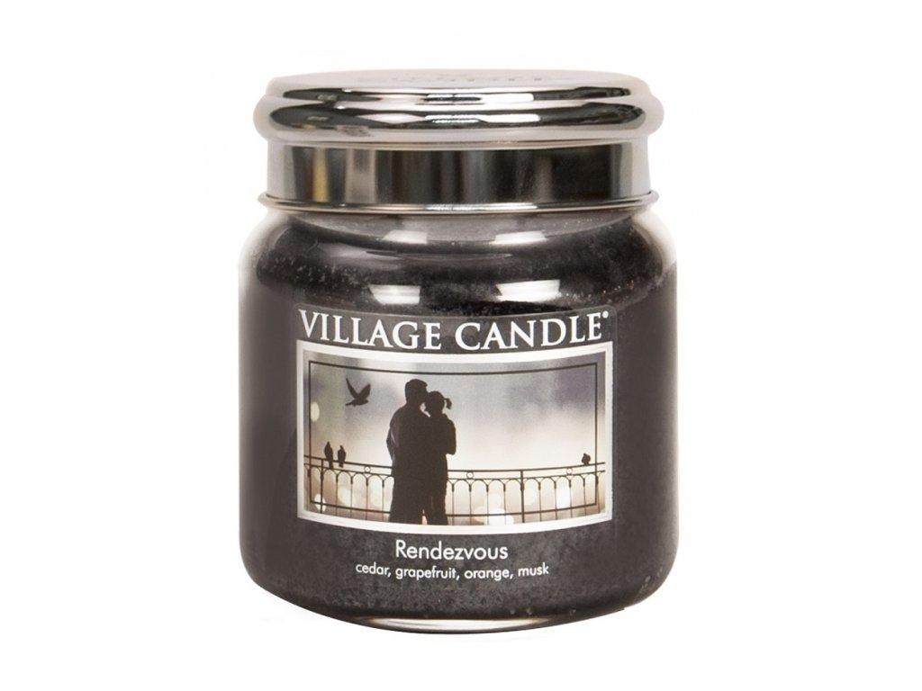 Village Candle Vonná svíčka Rande - Rendezvous, 390 g