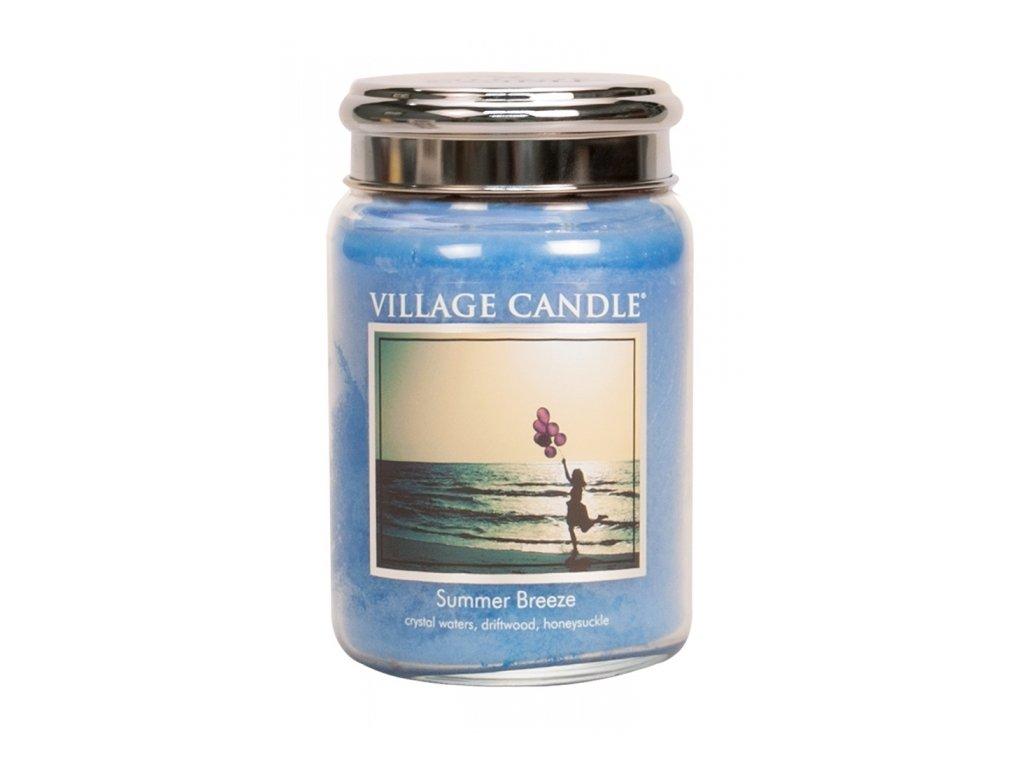 Village Candle Vonná svíčka Letní Vánek - Summer Breeze, 602 g
