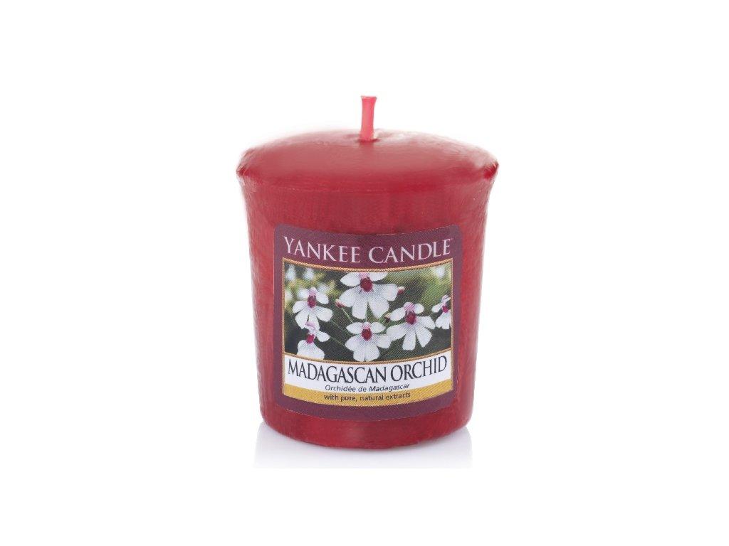 Yankee Candle Vonná Svíčka Votivní Madagascan Orchid, 49 g
