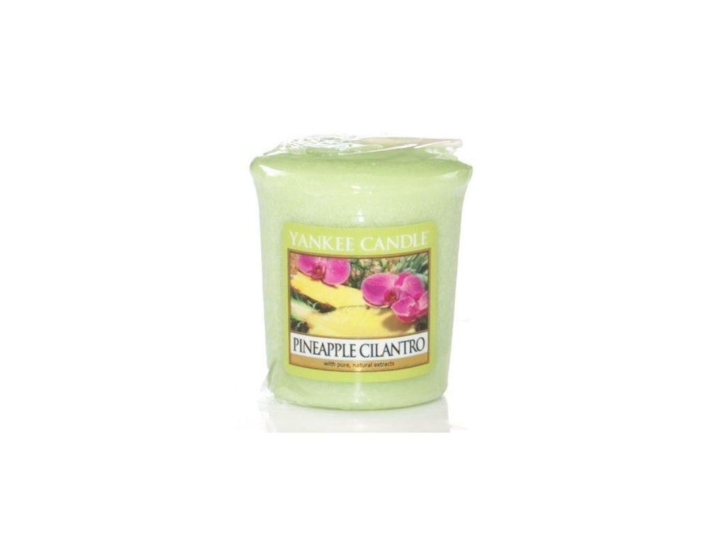 Yankee Candle Vonná Svíčka Votivní Pineapple Cilantro, 49 g