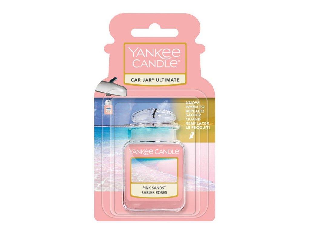 Yankee Candle Pink Sands Gelová aroma visačka do auta, 1 ks