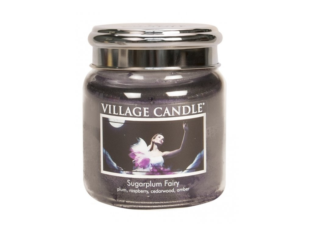 Village Candle Vonná svíčka Půlnoční Víla - Sugarplum Fairy, 390 g