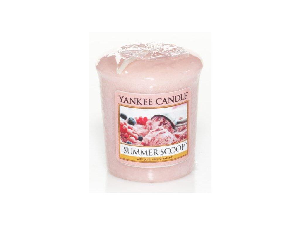 Yankee Candle Vonná Svíčka Votivní Summer Scoop, 49 g