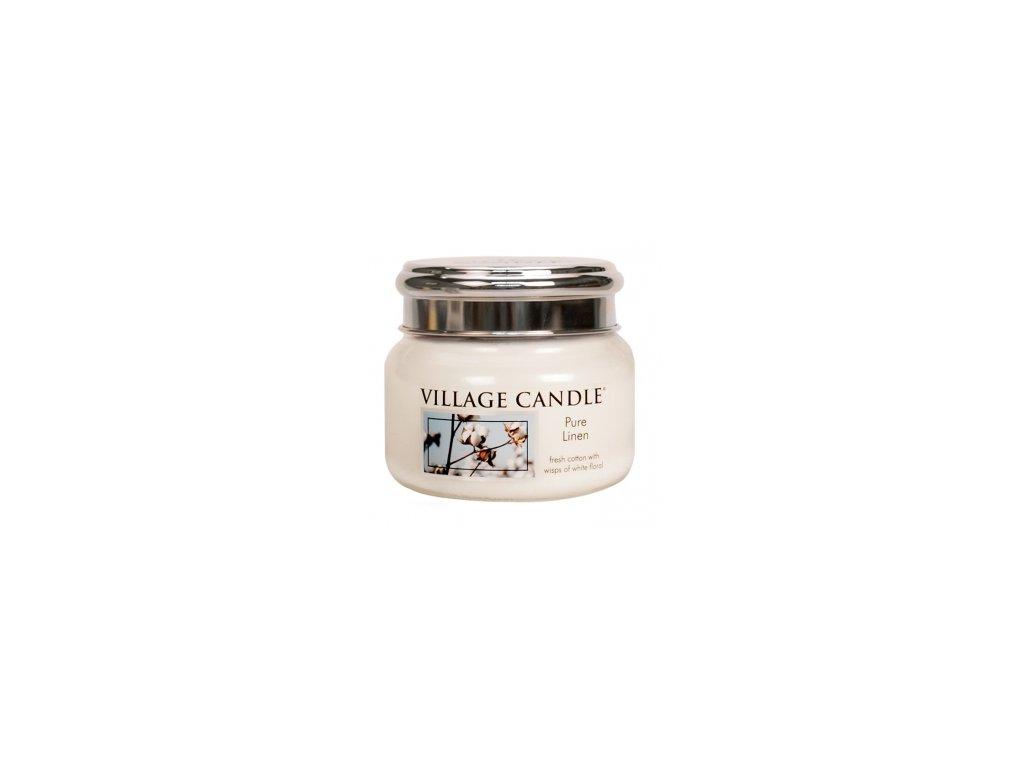 Village Candle Vonná svíčka Čisté Prádlo - Pure Linen, 262 g
