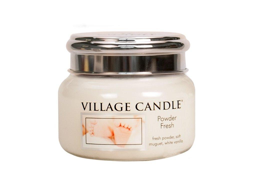 Village Candle Vonná svíčka Pudrová Svěžest - Powder Fresh, 262 g