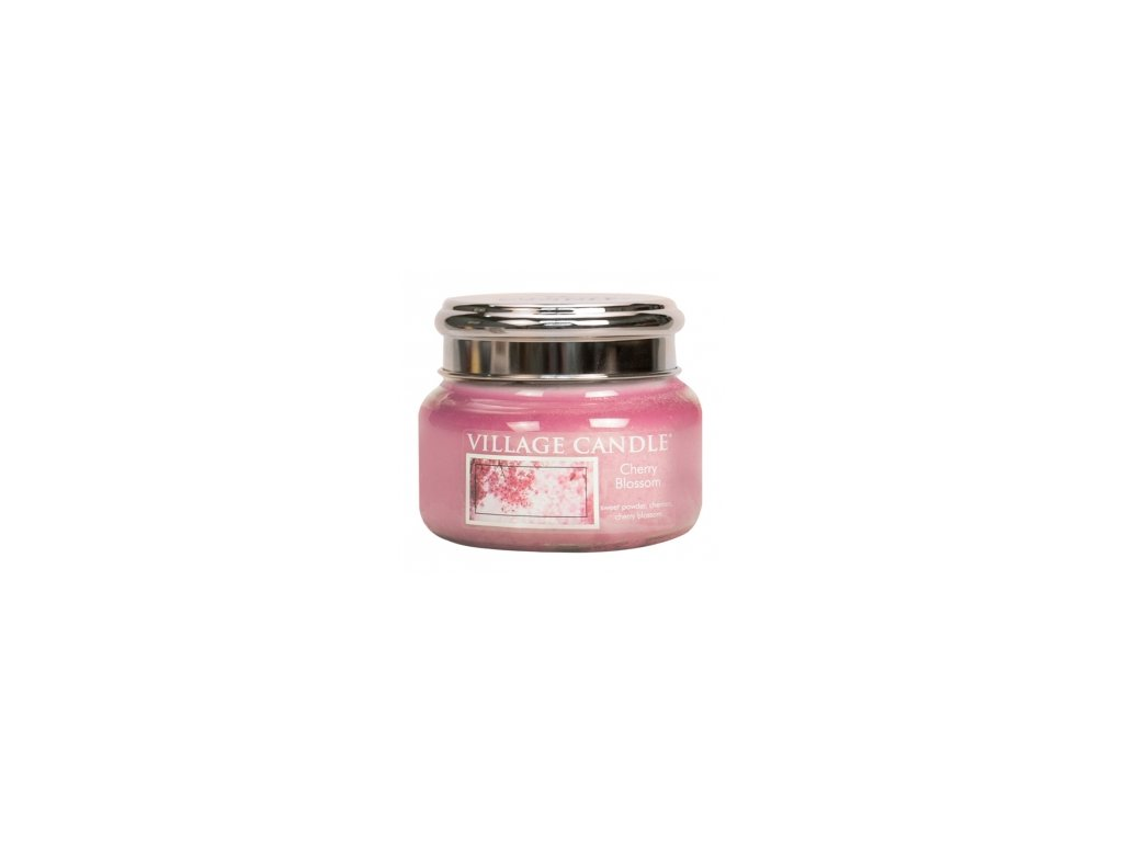 Village Candle Vonná svíčka Třešňový Květ - Cherry Blossom, 262 g