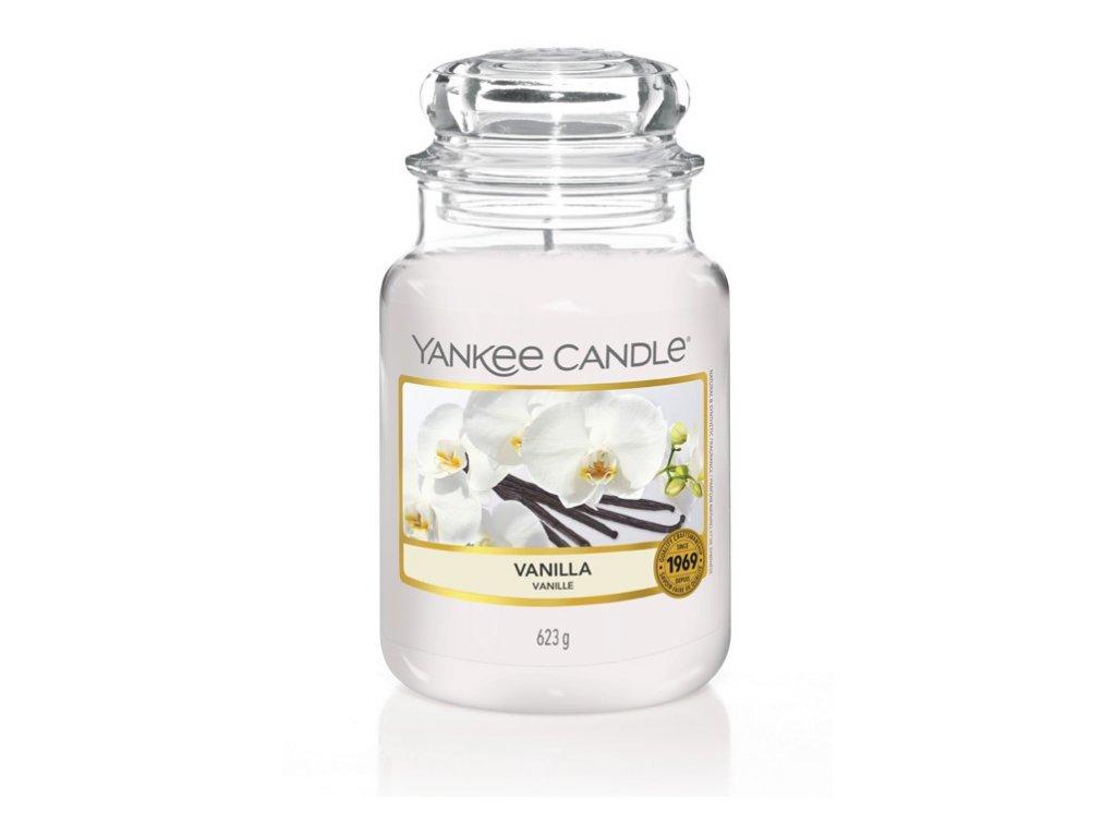 Yankee Candle Vonná Svíčka Vanilla classic velký, 623 g