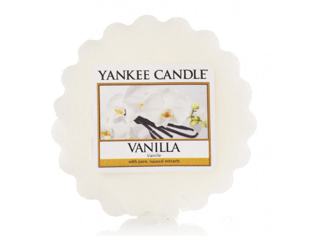 Yankee Candle - Vanilla Vosk do aromalampy, 22 g