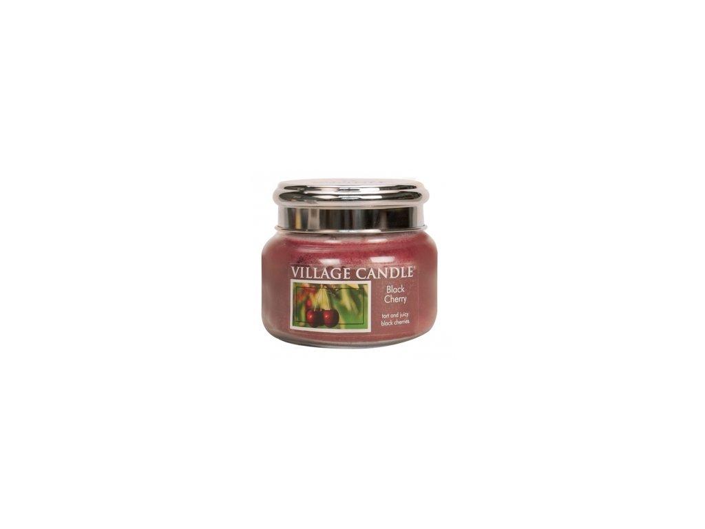 Village Candle Vonná svíčka Černá Třešeň - Black Cherry, 262 g