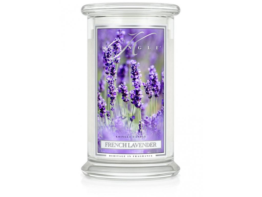 Kringle Candle svíčka French Lavender, 623 g