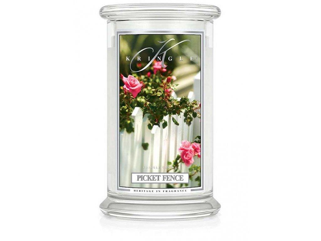 Kringle Candle svíčka Picket Fence, 623 g