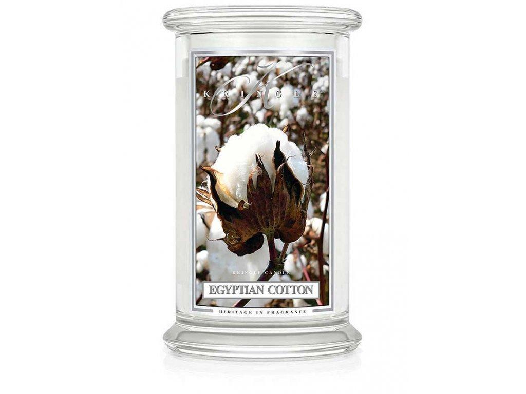 Kringle Candle svíčka Egyptian Cotton, 623 g