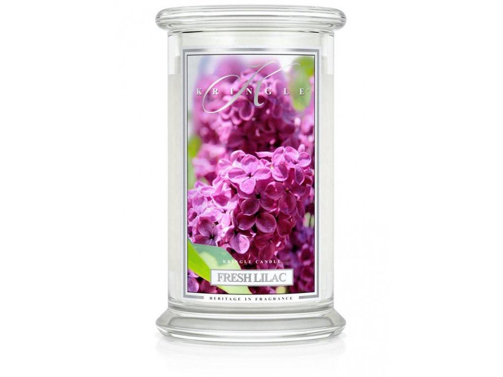 Kringle Candle svíčka Fresh Lilac, 623 g