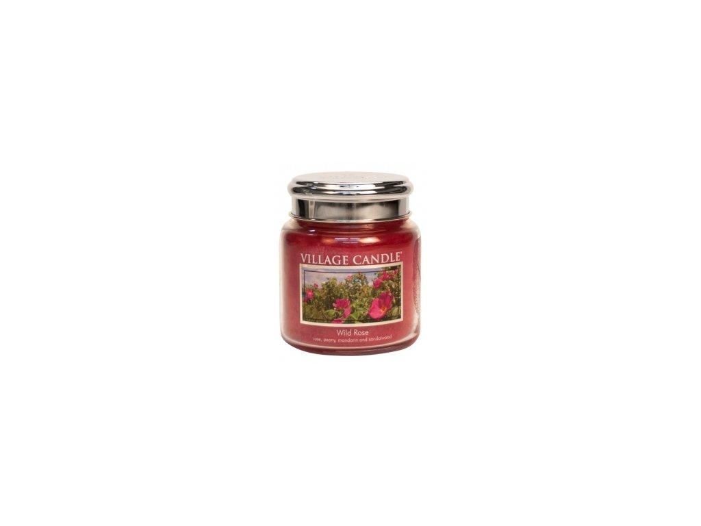 Village Candle Vonná svíčka Divoká Růže - Wild Rose, 390 g