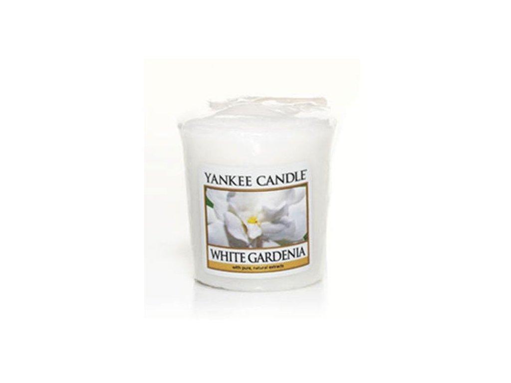 Yankee Candle Vonná Svíčka Votivní White Gardenia, 49 g