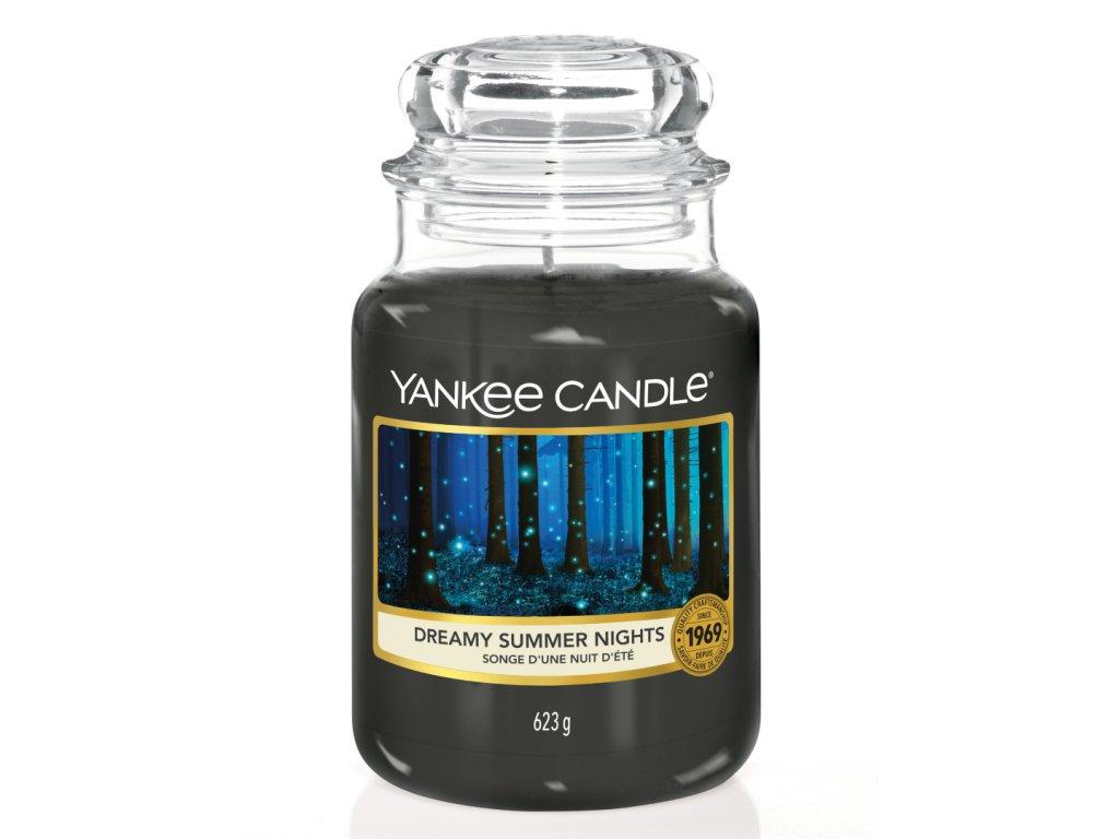 Yankee Candle Vonná Svíčka Dreamy Summer Nights classic velký, 623 g