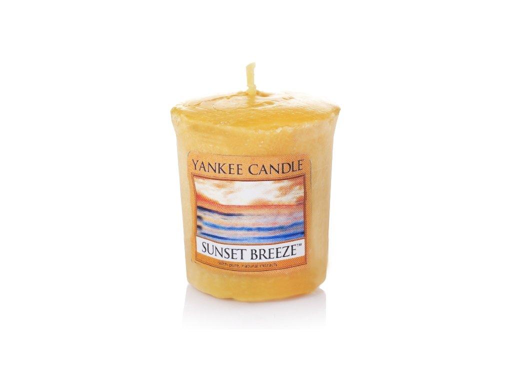 Yankee Candle Vonná Svíčka Votivní Sunset Breeze, 49 g