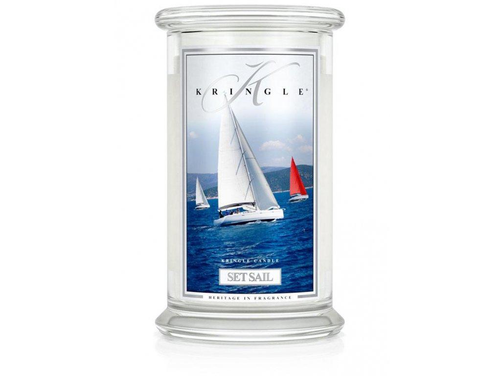 Kringle Candle svíčka Set Sail, 623 g
